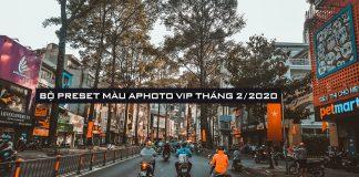 [Share] Bộ preset Camera Raw/ Lightroom tông màu Film buồn Aphoto Vip tháng 2/2020