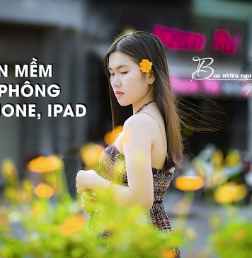 Phần mềm xóa phông trên điện thoại iphone