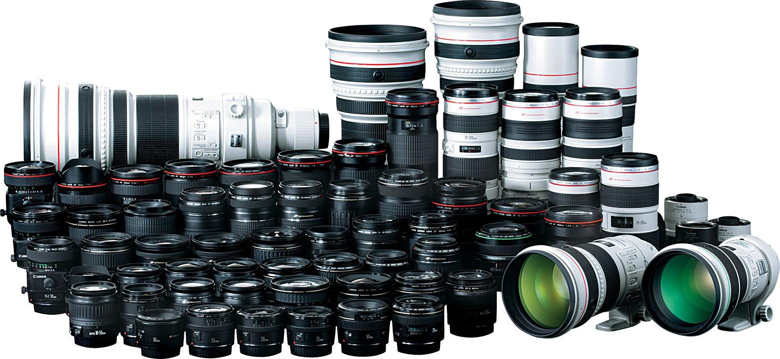 Lens Canon cũ