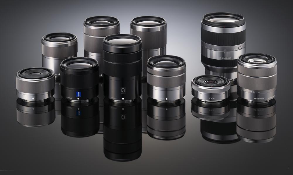 Lens Sony cũ