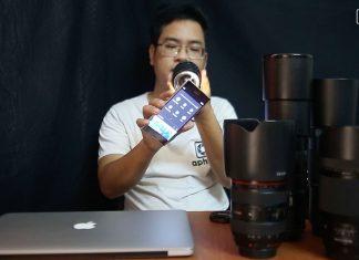 Test lens, ống kính cũ đã qua sử dụng