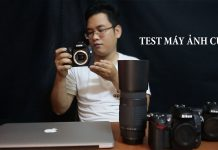 Các test máy ảnh cũ