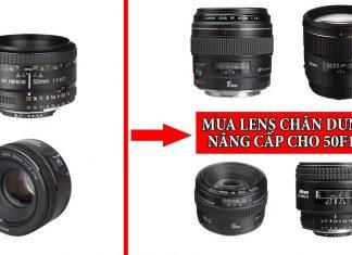 Lens chân dung nâng cấp cho 50F1.8
