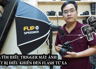 Tìm hiểu về Trigger máy ảnh - Thiết bị giúp điều khiển đèn flash rời từ xa