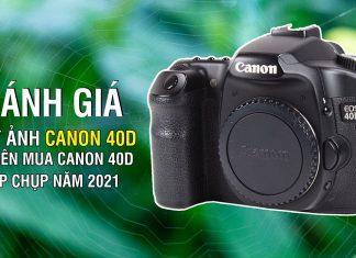 Đánh giá Canon 40D