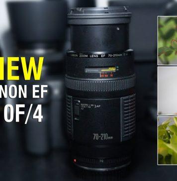 Đánh giá lens Canon 70-210F4